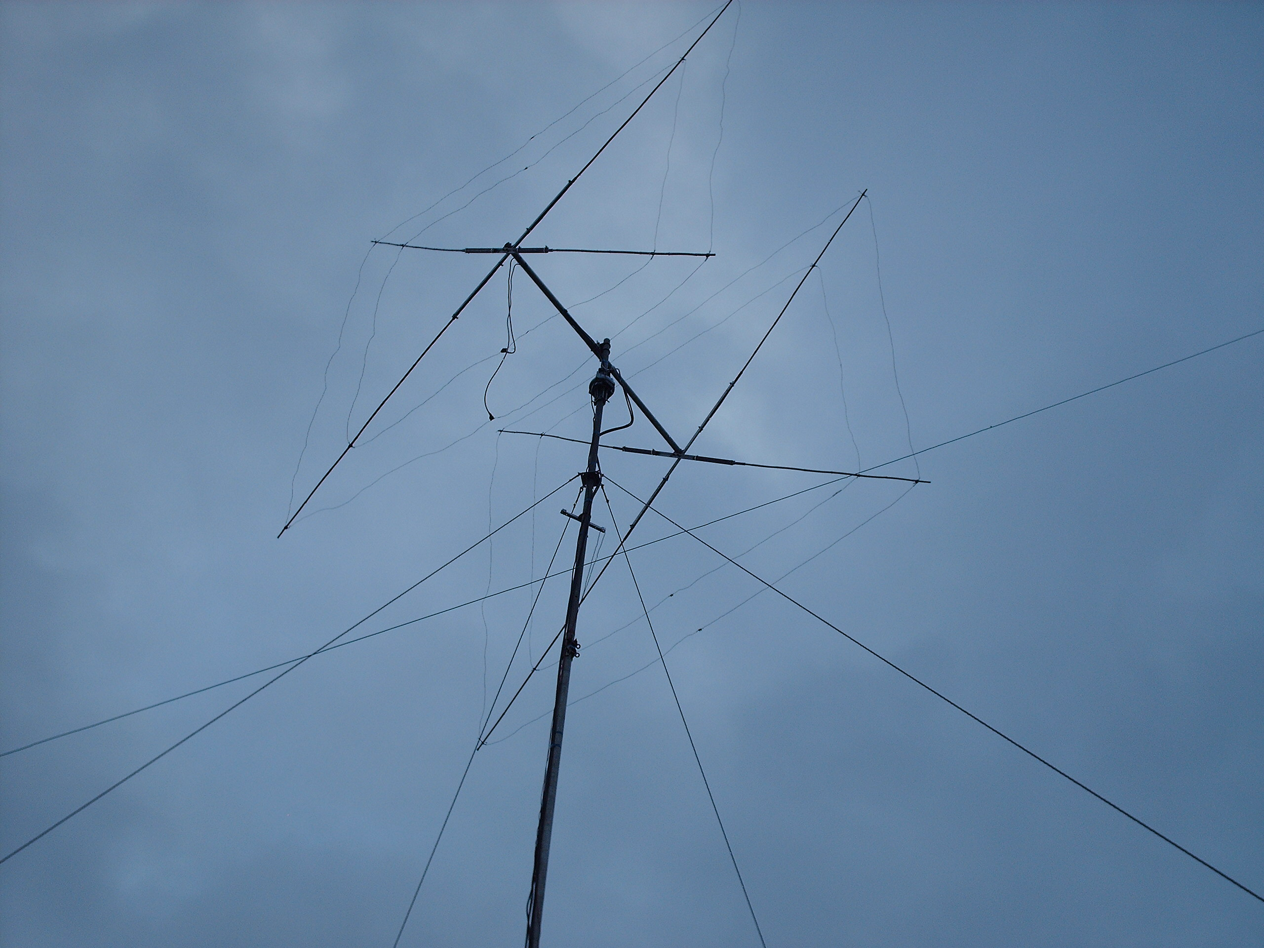10 Meter quad antenna